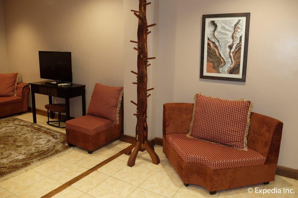 Suite de luna de miel - Sala de estar