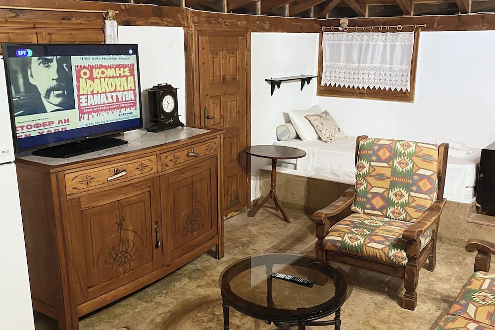 Darījumklases luksusa numurs, skats uz jūru - Dzīvojamā istaba