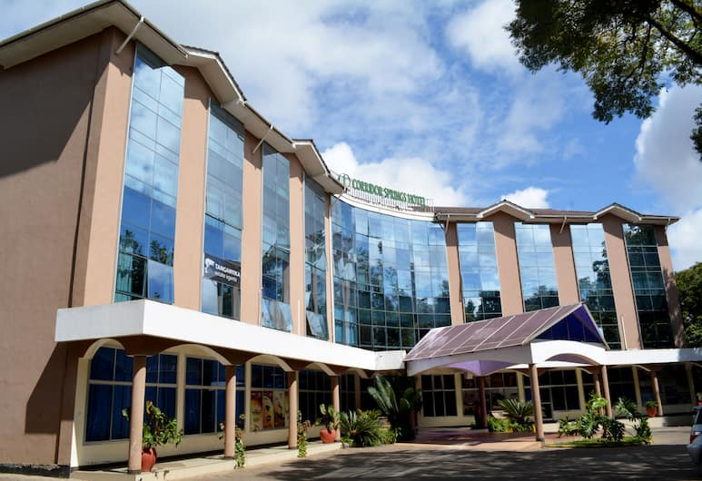 Arusha Corridor Spring Hotel, Arusha, Fasada hotelu