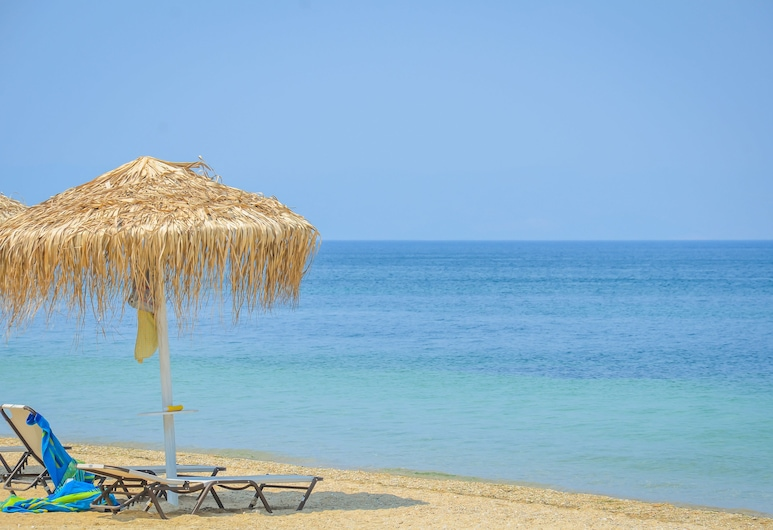Inspira Boutique Hotel -Adults Only, Thassos, Pláž