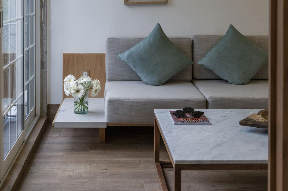 Suite Junior - Obývacie priestory