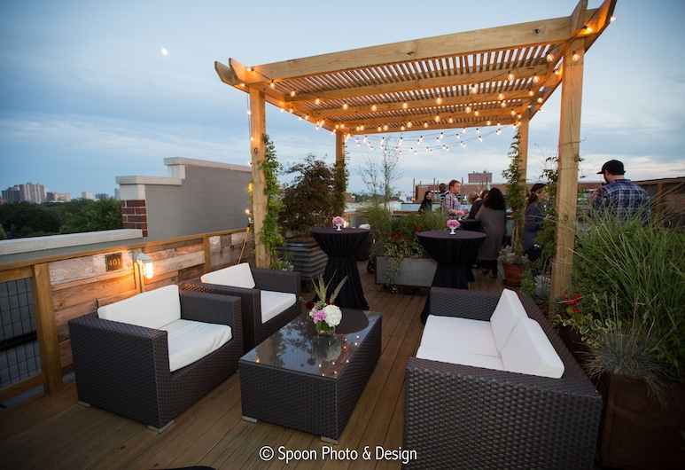 The Guesthouse Hotel, Chicago, Terrace/Patio