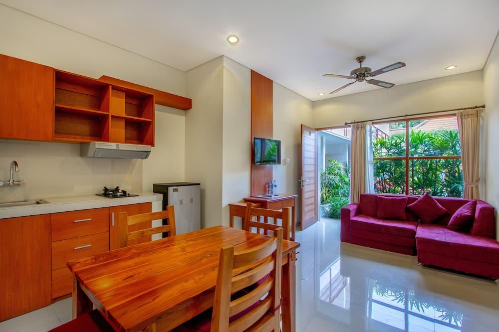Suite, Kitchenette - Living Area