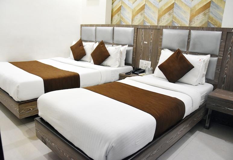 Hotel Sanjary Palace, Mumbai, Deluxe-værelse til 3 personer, Værelse