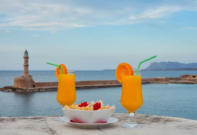 Casa Leone Hotel, Χανιά, Honeymoon Δωμάτιο, Μπαλκόνι, Θέα στη Θάλασσα (Prive), Αίθριο/βεράντα
