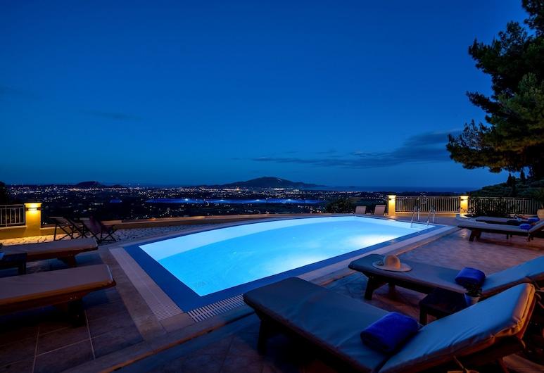 Castelli Luxury Villa, Ζάκυνθος, Εξωτερική πισίνα