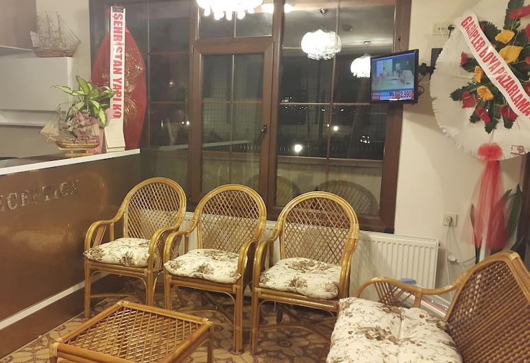 Tugra Hotel, Çaykara, Salottino della hall