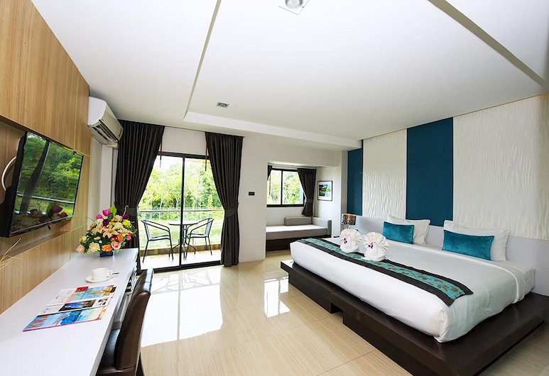 The Nice Hotel, Krabi, Deluxe King Room, Kamer