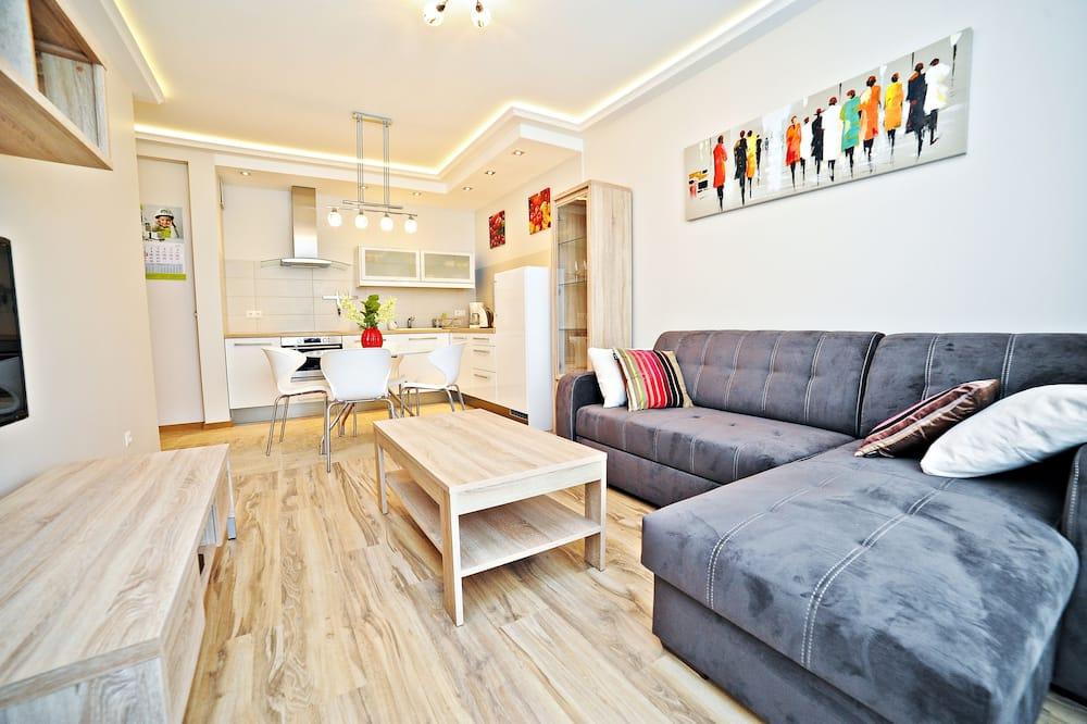Superior Apartment, Balcony (Wladyslawa Lokietka 19 Street) - Living Room