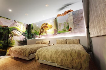 Picture of 3Dsunflower Embossed B&B in Hualien