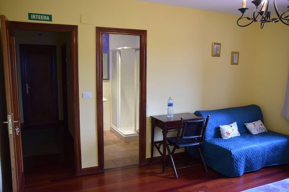 غرفة مزدوجة أو بسريرين منفصلين - منظر للجبل - حمّام