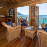 Appartement, 1 chambre, balcon, vue océan - Salle de séjour