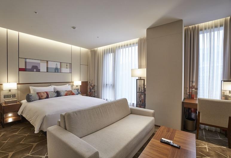 Aloft Seoul Myeongdong, Seoul, Urban, Studio Suite, 1 King Bed, Non Smoking, Guest Room