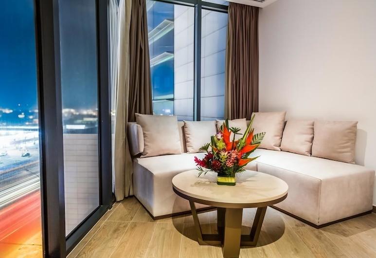 Azalai Hôtel Abidjan, Abidjan, Superior Room, Living Area