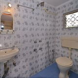 Стандартный двухместный номер с 1 или 2 кроватями, 1 двуспальная кровать - Ванная комната