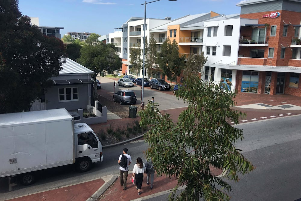 Apartmán typu Deluxe - Zobrazenie ulice