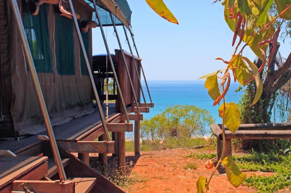 Rodinný stan, vlastná kúpeľňa, výhľad na oceán (Family Safari Tent) - Hosťovská izba