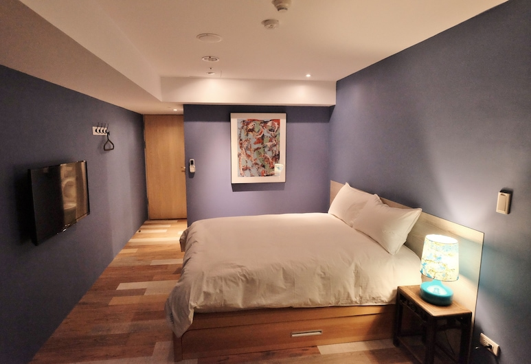 Happy Inn & Hostel, Taichung, Superior Double Room, Guest Room