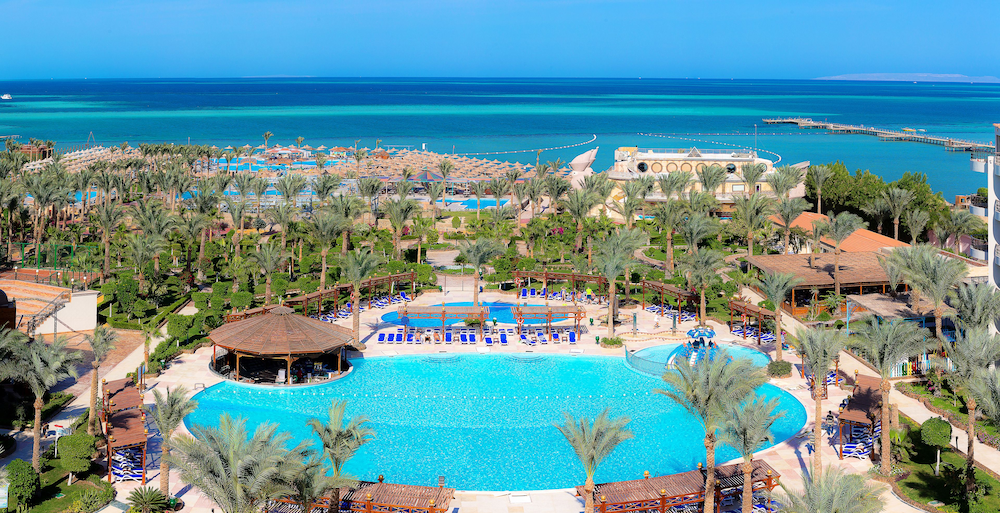 Book hawaii le jardin aqua park resort in hurghada for Hawaii le jardin 5