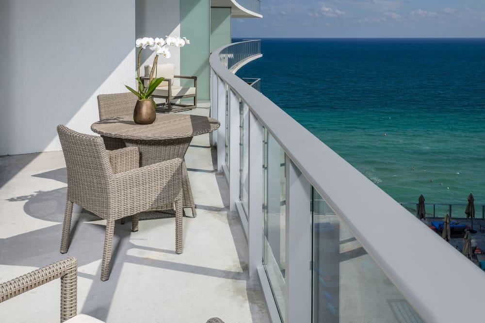 客房, 2 間臥室, 海景 - 露台