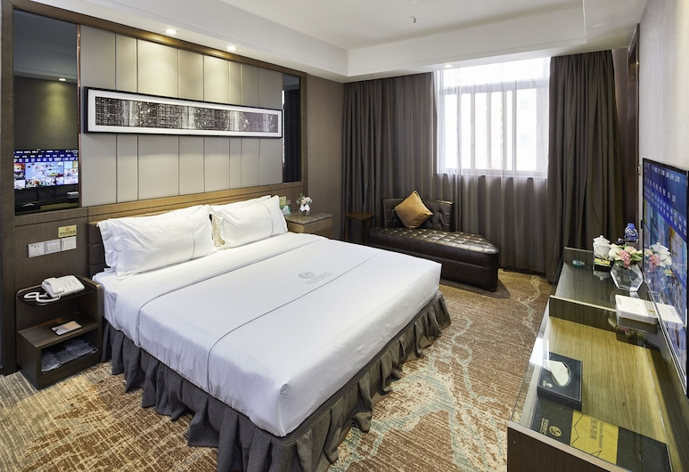 Insail Hotels (Luohu Dongmen Shenzhen), Shenzhen, Dvojlôžková izba typu Deluxe, Hosťovská izba