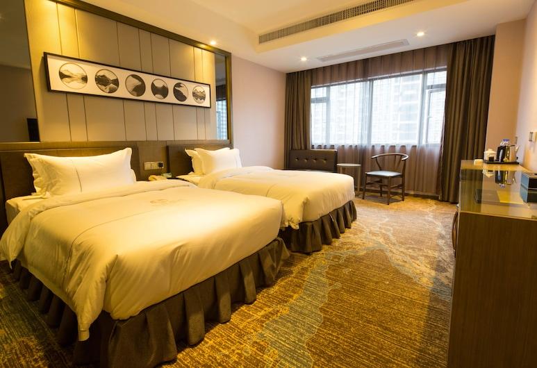 lnsail Hotels (Luohu Port Railway Station Shenzhen) , Shenzhen, Deluxe Twin Room, Guest Room