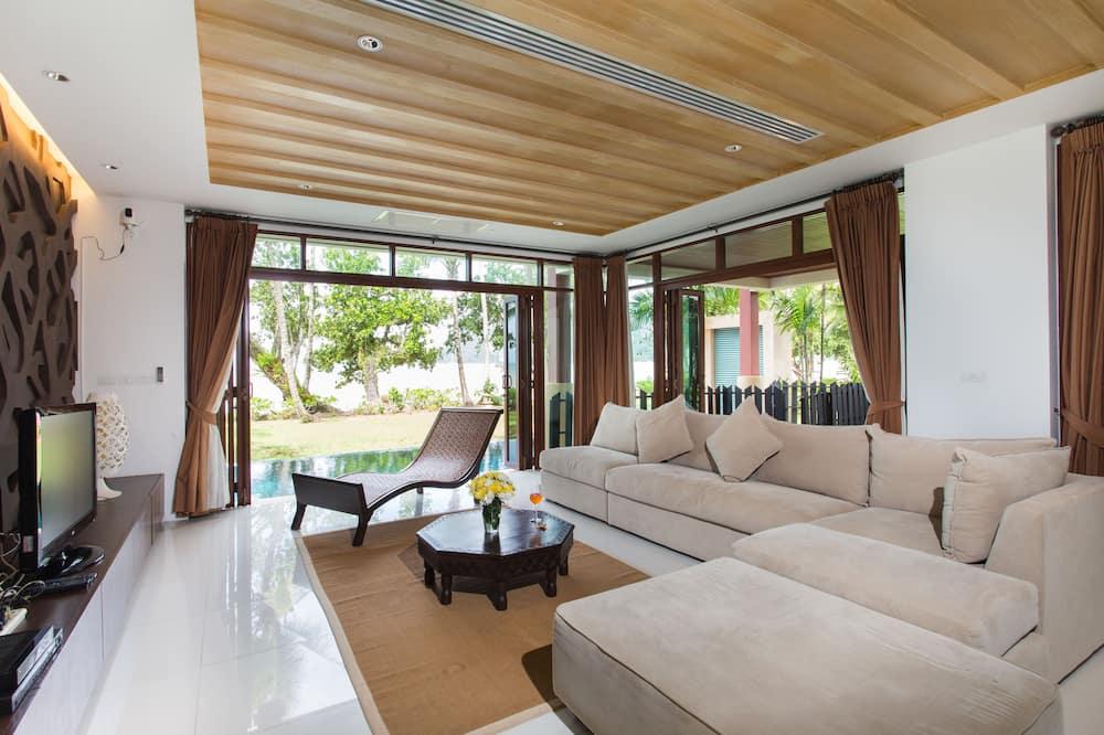 4 Bedrooms Private Pool Villa - Obývacie priestory
