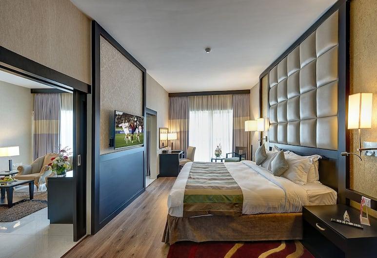 Grandeur Hotel, Dubai, Deluxe Suite, Guest Room
