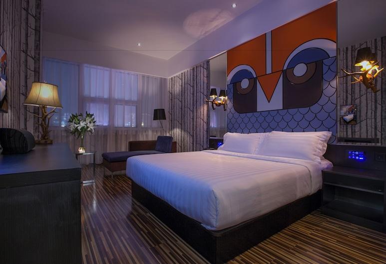 Orange Hotel Select Luohu Shenzhen, Shenzhen, Norwegian Wood Theme Room, Guest Room