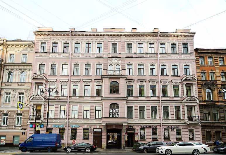 «Жан Поль», Санкт-Петербург, Фасад отеля