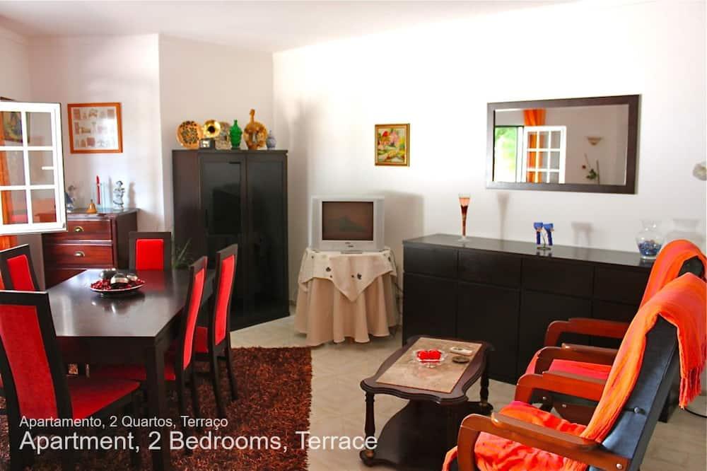 Lejlighed - 2 soveværelser - terrasse - Stue