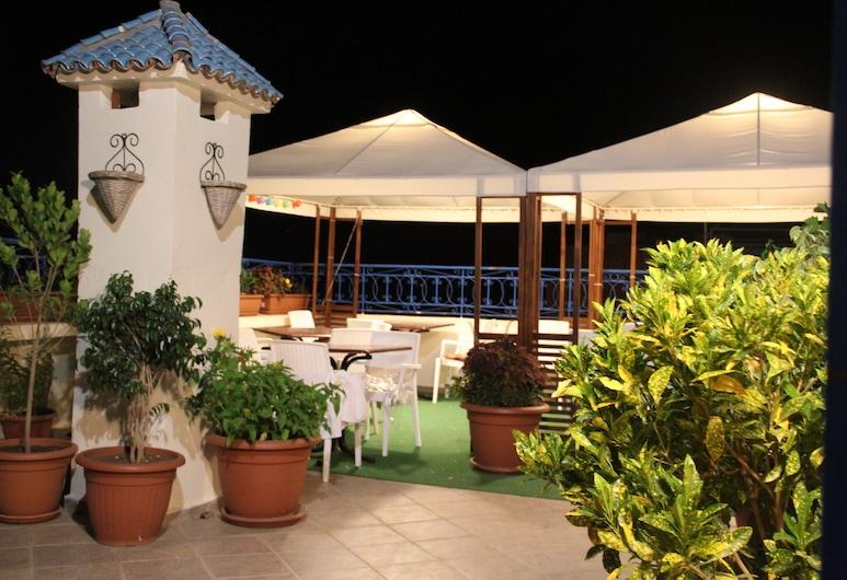 Hotel Tarek, Chefchaouen, ลานระเบียง/นอกชาน