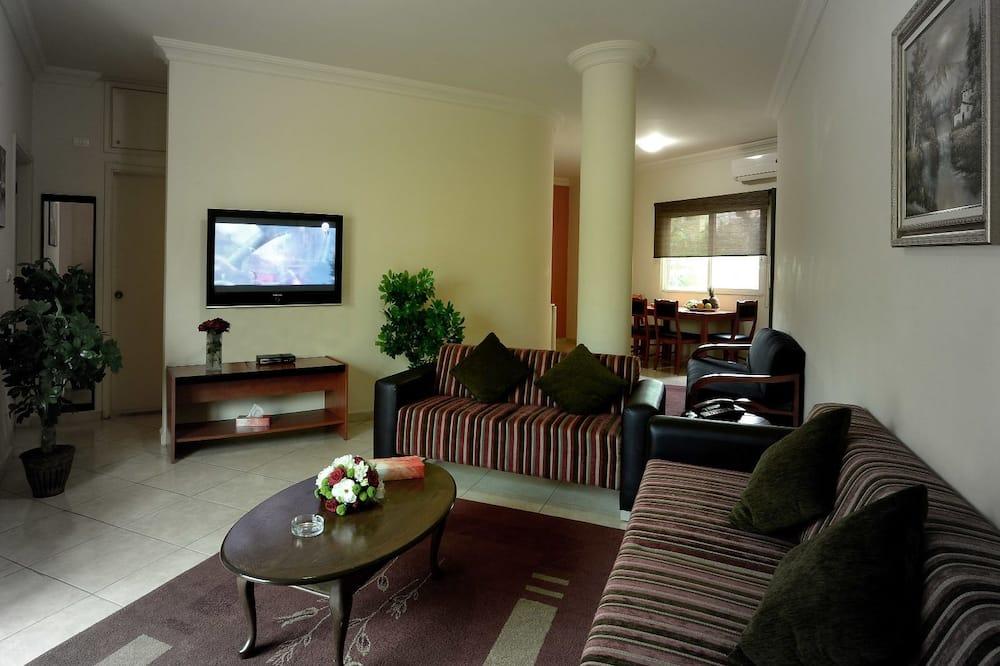 Suite Comfort, 2 Quartos, Varanda - Sala de Estar