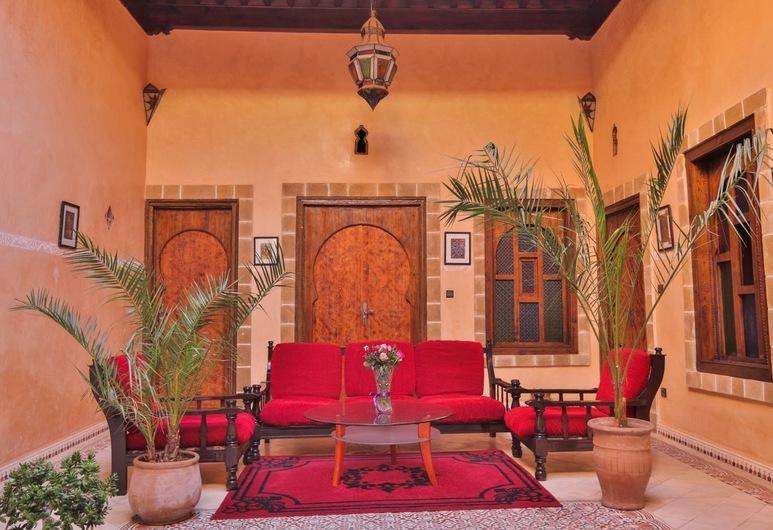 Riad l'authentique, Esauira, Terraza o patio