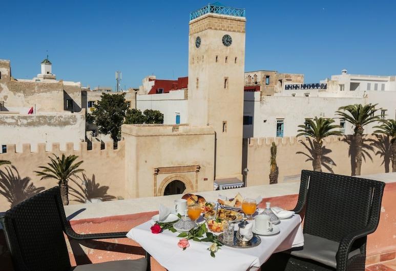 Riad l'authentique, Essaouira, Einestamine vabas õhus