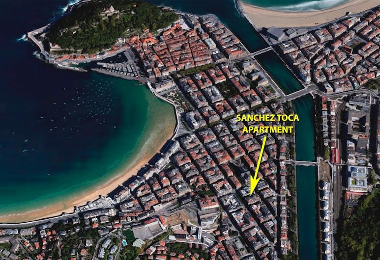 Sanchez Toca - Iberorent Apartments, San Sebastian, Vista Aérea