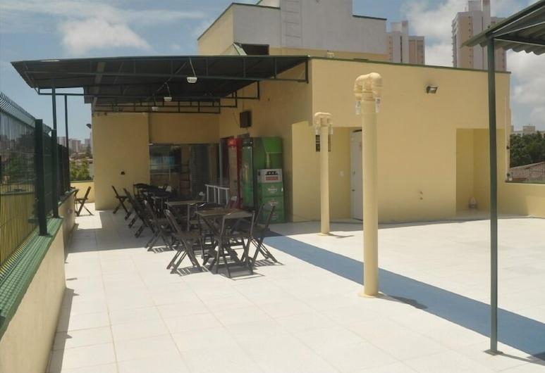 Pousada N S Fátima, Fortaleza, Αίθριο/βεράντα