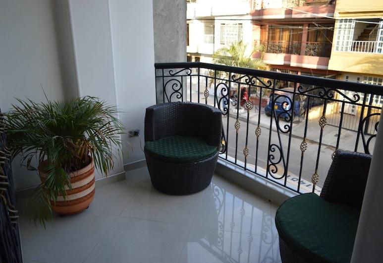 هوتل ذا كلفر هوم, بالميرا, شقة ديلوكس - ٣ غرف نوم, شُرفة