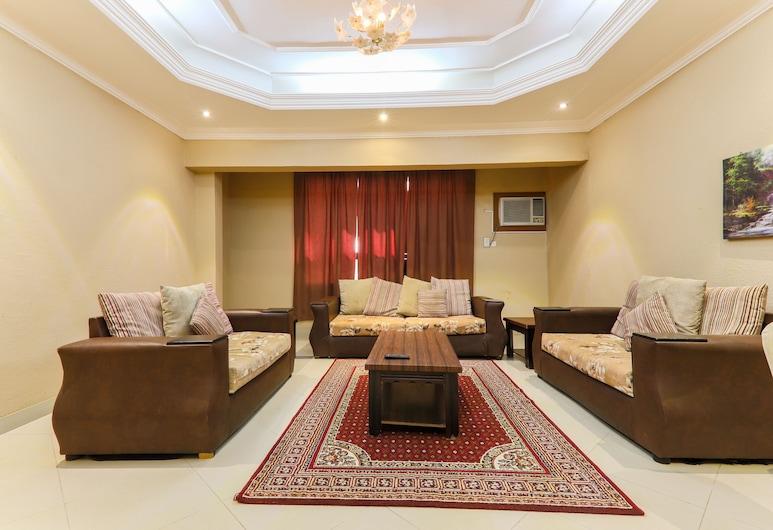 OYO 168 Manazl Al Steen Housing Units, Mekka, Apartment, 3Schlafzimmer, Wohnzimmer