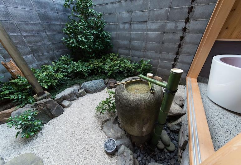 산조 미사사기 우메노토안, Kyoto, 정원
