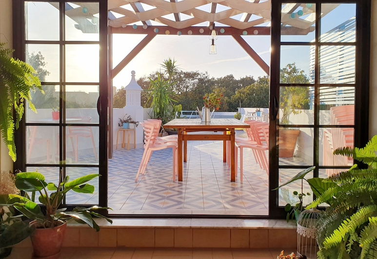 Sunlight House, Faro, Terrasse/veranda