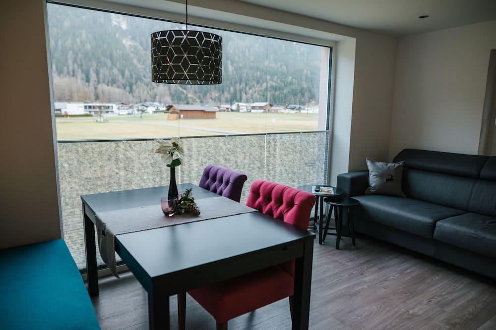 Apartmán, 2 spálne, balkón - Obývacie priestory
