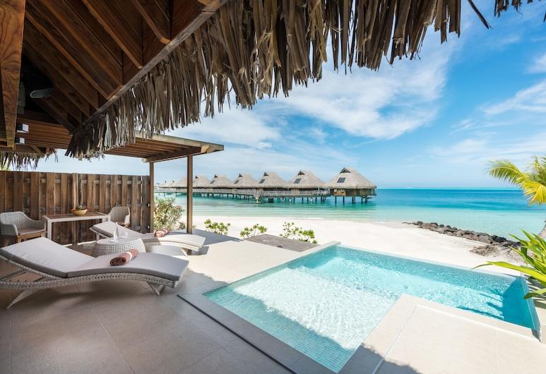 Conrad Bora Bora Nui, Bora Bora, King Beach Pool Villa, Guest Room View