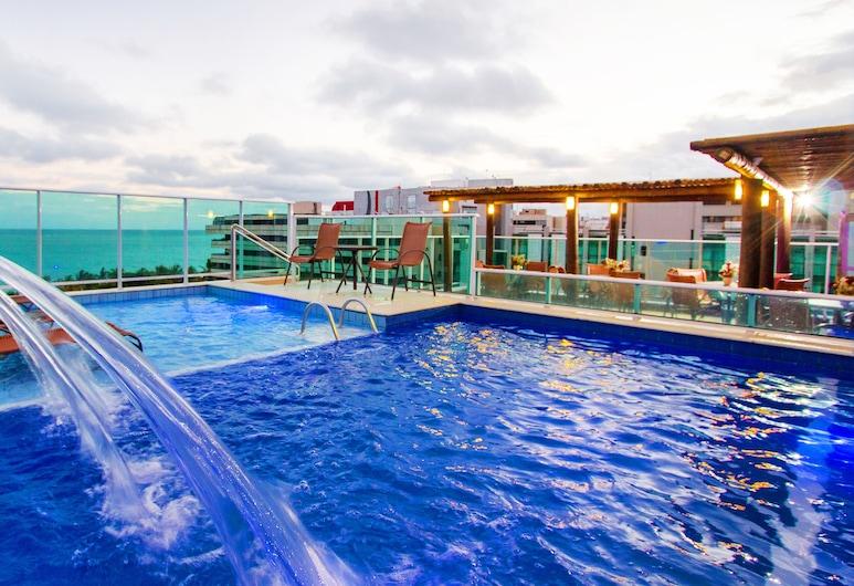 Tambaqui Praia Hotel, Maceio, Terasz/udvar