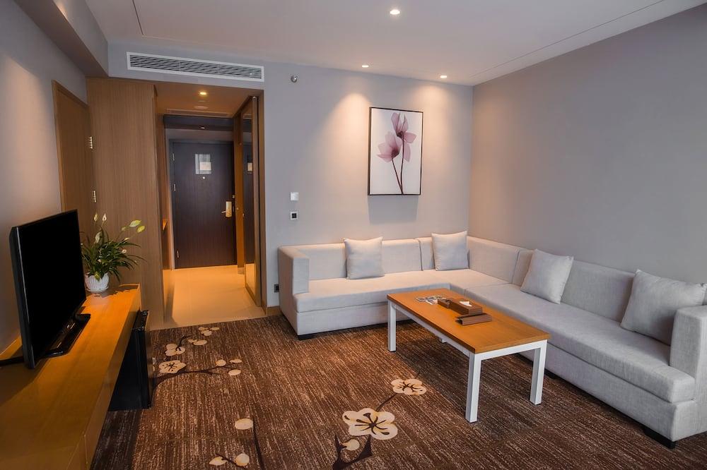 Apartmán typu Junior, 1 extra veľké dvojlôžko - Obývačka