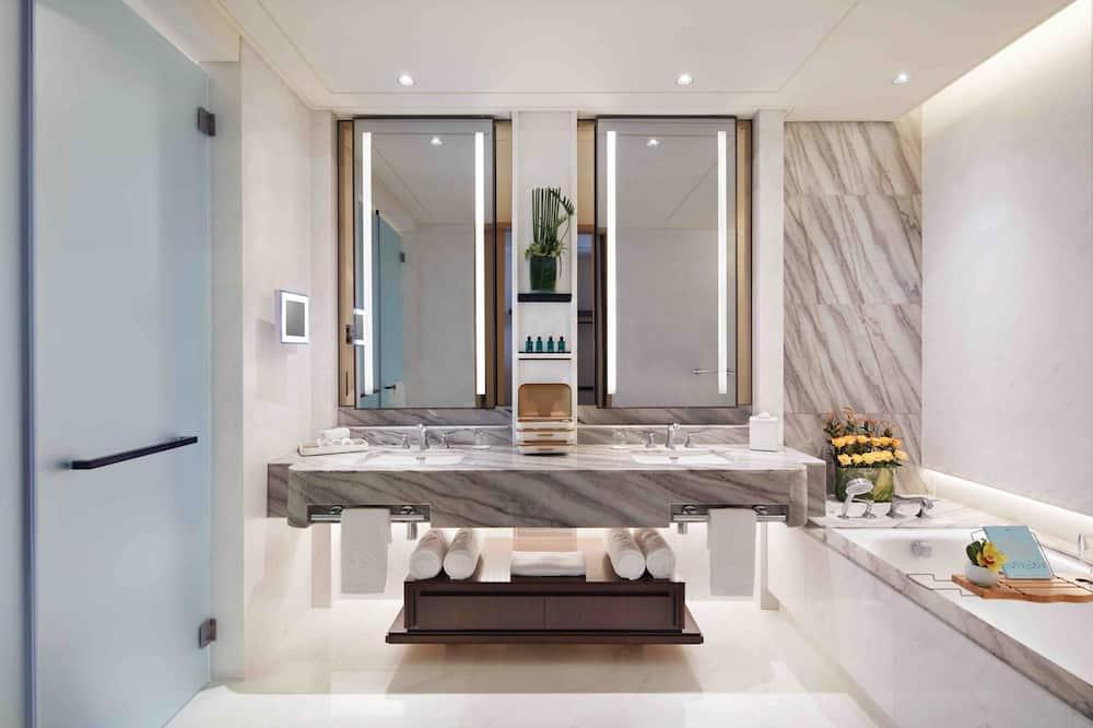 クラブ スイート キングベッド 1 台 ビジネスラウンジアクセス (Prestige) - バスルーム