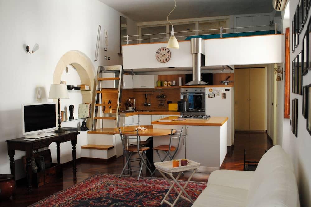 Loft - Area soggiorno