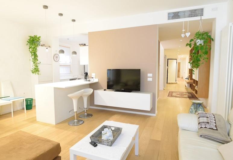 Al Campaniel Apartment, Venedig, Apartment, 3Schlafzimmer, Wohnzimmer