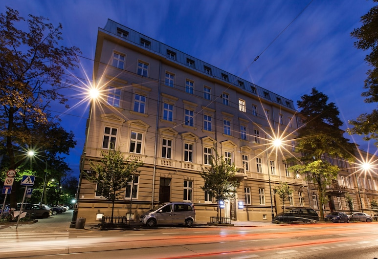 Hotel Legend, Krakow, Hotel Front – Evening/Night