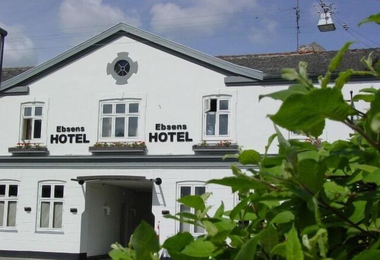 Ebsens Hotel, Maribo, Hótelframhlið